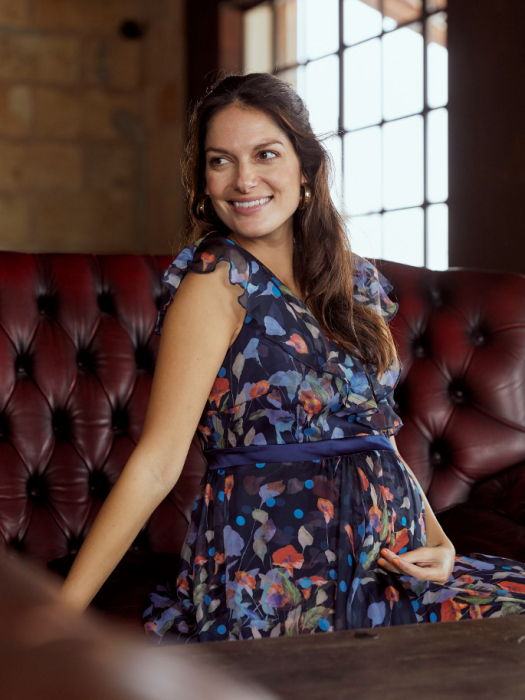 Rochie eleganta pentru gravide Mamalicious Jasmine Silk 6
