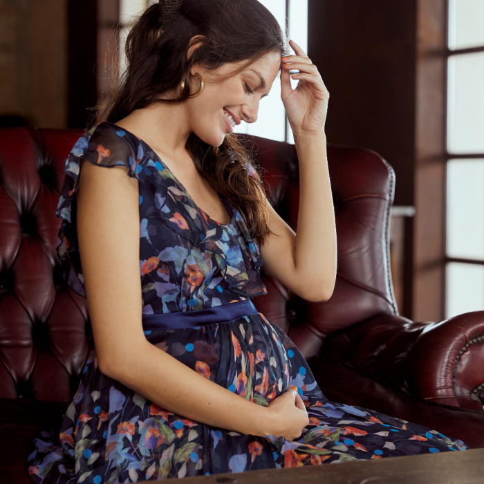Rochie eleganta pentru gravide Mamalicious Jasmine Silk 5