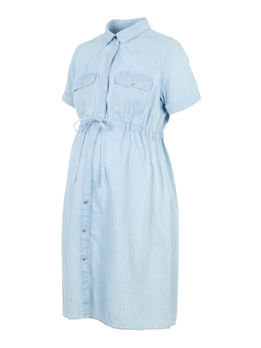 Rochie tip camasa pentru gravide si alaptare Mamalicious Xandra 5