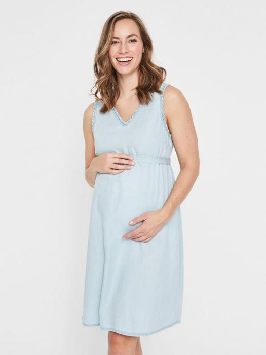 Rochie pentru gravide din lyocell Mamalicious Adora 2