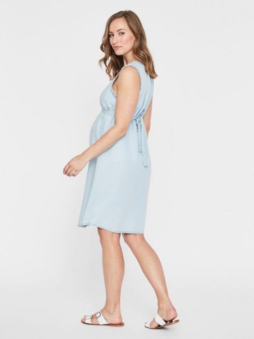 Rochie pentru gravide din lyocell Mamalicious Adora 1
