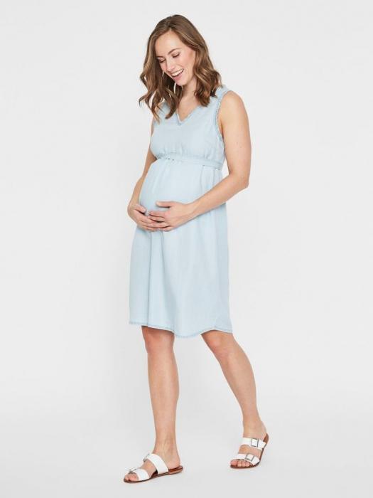 Rochie pentru gravide din lyocell Mamalicious Adora 0
