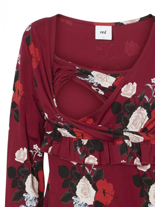 rochie-pentru-sarcina-si-alaptare-mamalicious-liza [3]
