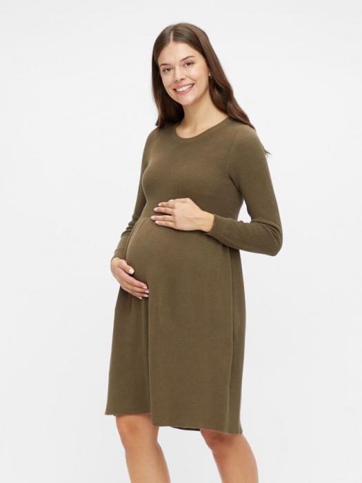 rochie-tricotata-gravide-bumbac-organic-mamalicious-zoe 1