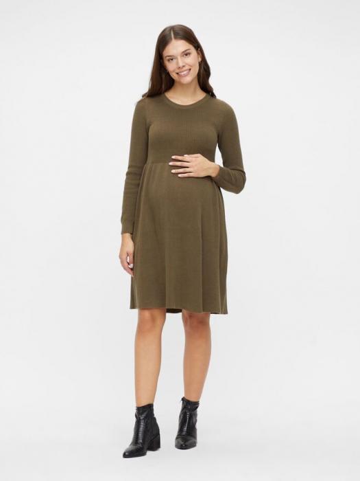 rochie-tricotata-gravide-bumbac-organic-mamalicious-zoe 3