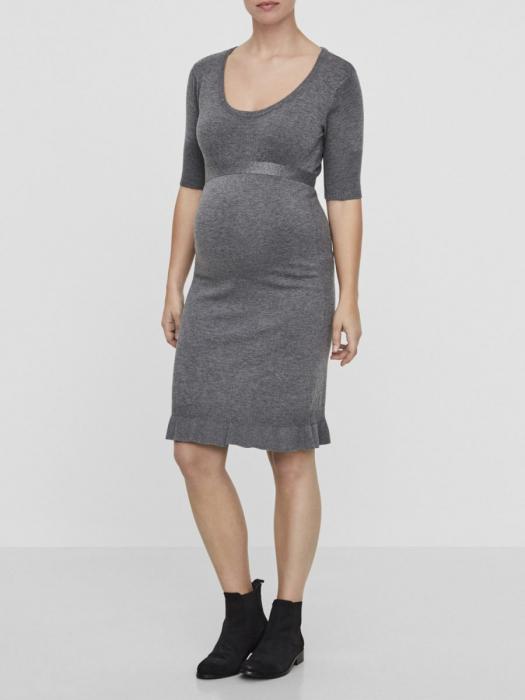Rochie tricotata pentru gravide Mamalicious Zolanda 4