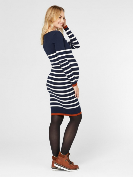 rochie-tricotata-pentru-gravide-si-alaptare-kenna 4