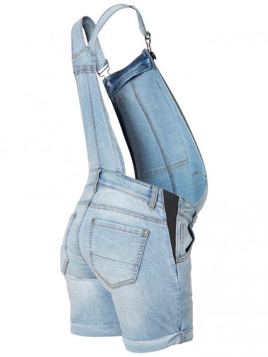 Salopeta cu pantaloni scurti pentru gravide Mamalicious Tahiti 4