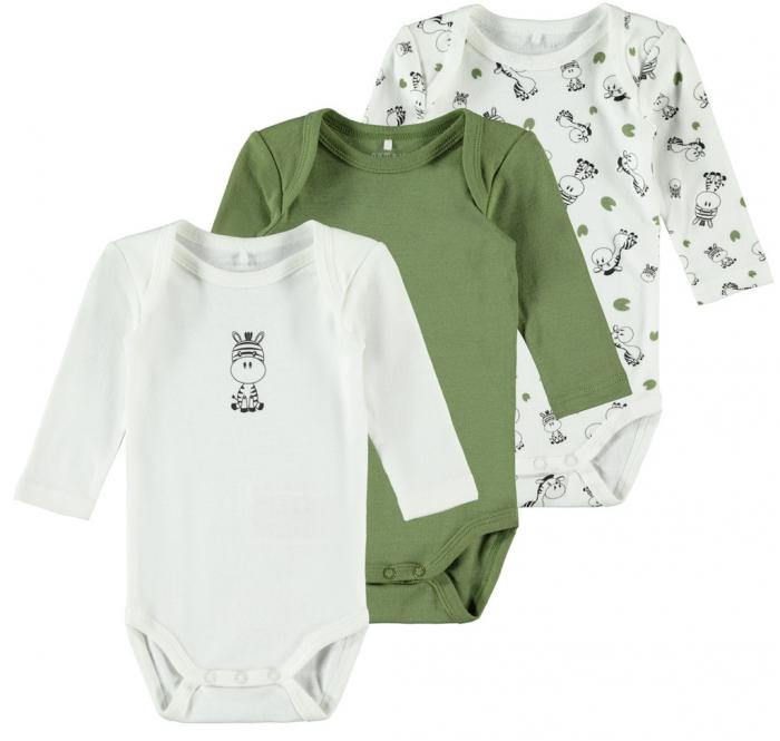 set-3-body-uri-bebelusi-bumbac-organic-baieti-name-it-green-zebra [0]