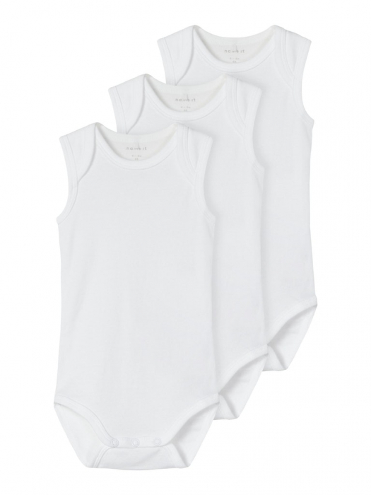 set-3-body-uri-bebelusi-tip-maiou-name-it-solid-white 0