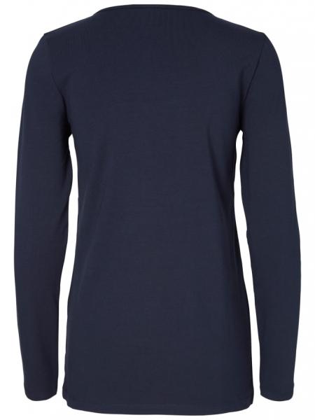 set-bluze-alaptare-din-bumbac-organic-tess-albastru-marin-alb 4