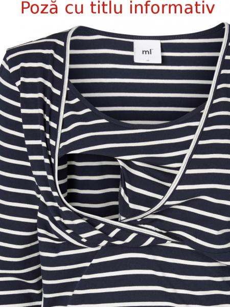 set-bluze-alaptare-din-bumbac-organic-tess-albastru-marin-alb 5