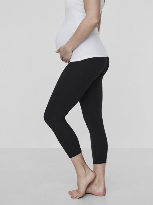 Set colanti pentru gravide bumbac organic 3/4 5