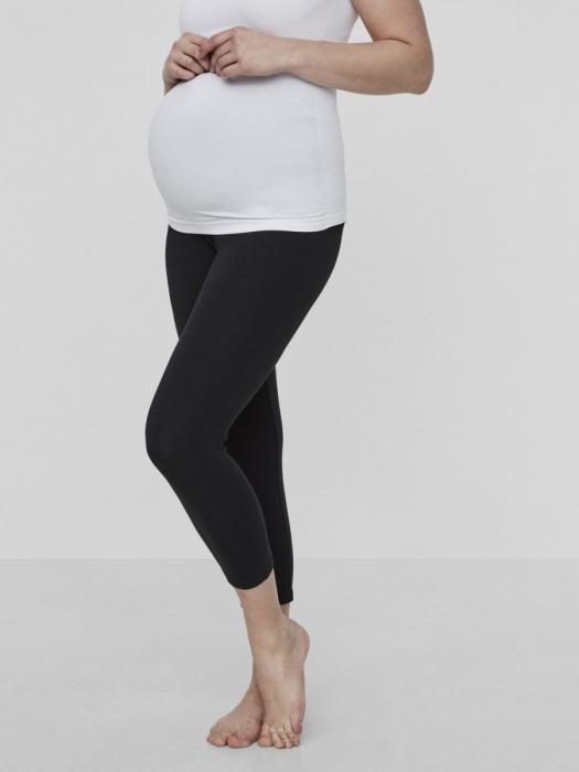 Set colanti pentru gravide bumbac organic 3/4 4