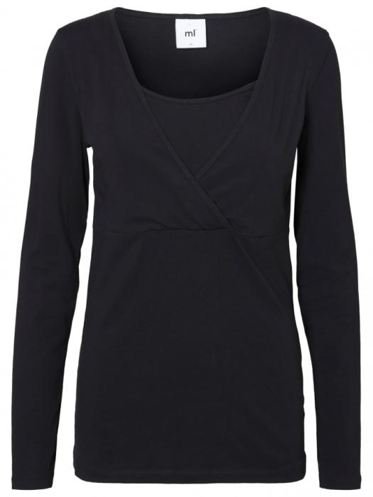 set-2-bluze-alaptare-din-bumbac-organic-tess-alb-negru 3