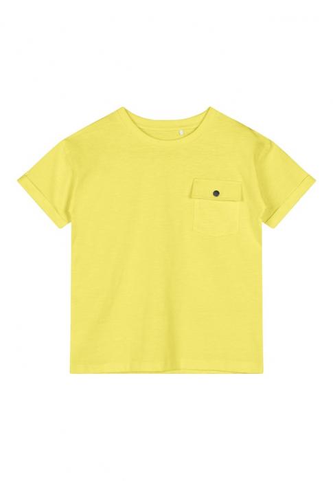 tricou-copii-bumbac-organic-baieti-name-it-vebbe-lemon 0