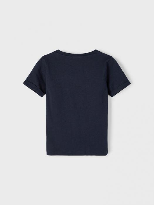 tricou-copii-bumbac-organic-baieti-name-it-vebbe-sapphire 1