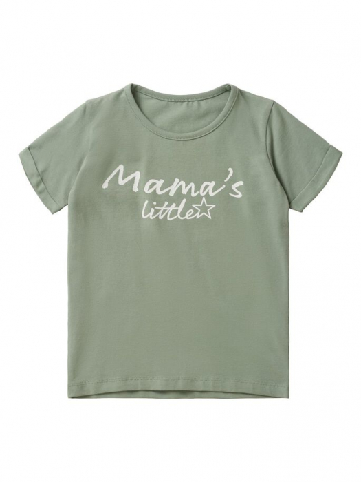 Tricou copii bumbac organic Mamalicous Little Lucca 0