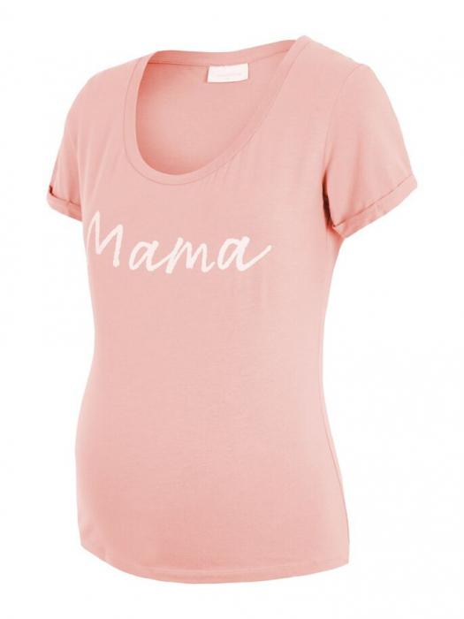 Tricou pentru gravide Lucca Peaches 4