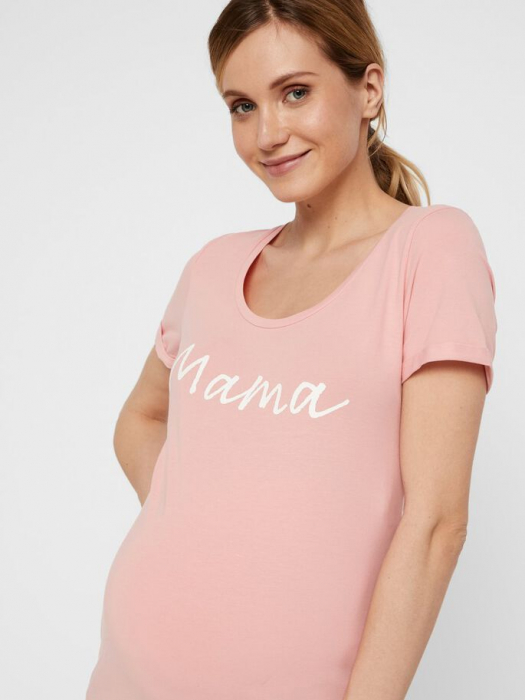 Tricou pentru gravide Lucca Peaches 3