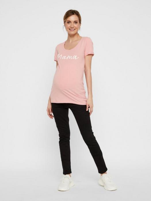 Tricou pentru gravide Lucca Peaches 2