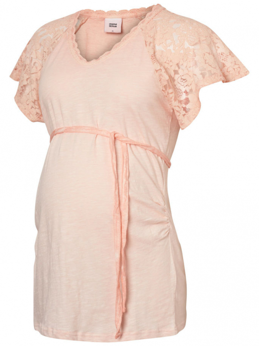 Tricou pentru gravide din bumbac Mamalicious Malika 1