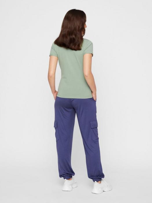 Tricou pentru gravide Lucca Green Bay 1