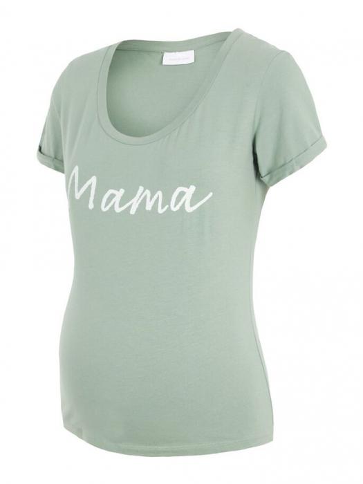 Tricou pentru gravide Lucca Green Bay 4
