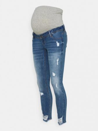 Blugi gravide, slim, aspect uzat - Mamalicious Taragona5