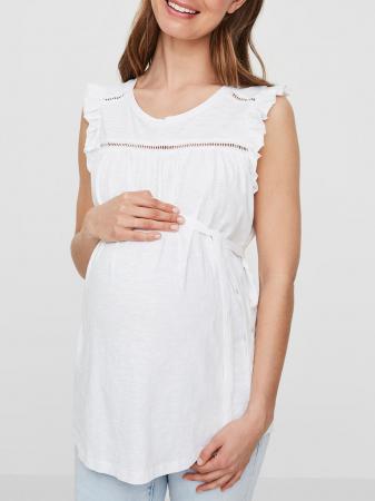Bluză pentru gravide din bumbac Mamalicious Iman1