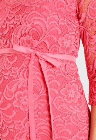 Bluză pentru gravide Mamalicious Mivana sunkist coral3