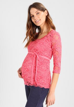 Bluză pentru gravide Mamalicious Mivana sunkist coral0