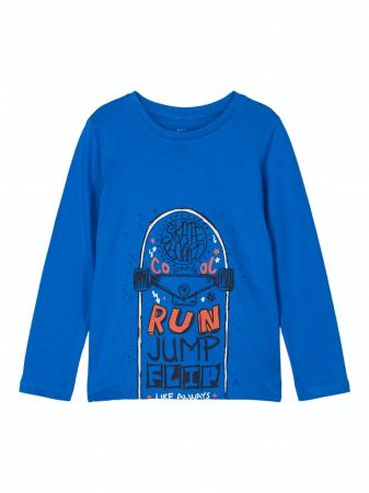 Bluza baieti, bumbac organic – Name It Victor Imperial0