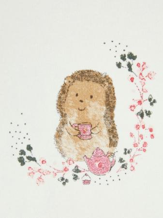 Bluza bebelusi, bumbac organic, fete - Karen White1