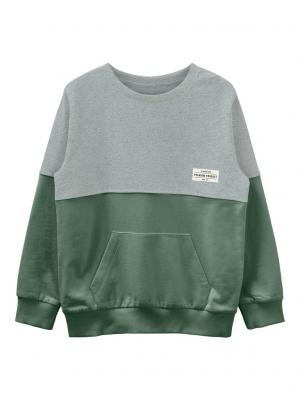 Bluza copii, bumbac organic, baieti - Name It Valdor Ivy0