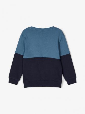 Bluza copii, bumbac organic, baieti - Name It Valdor Sapphire2