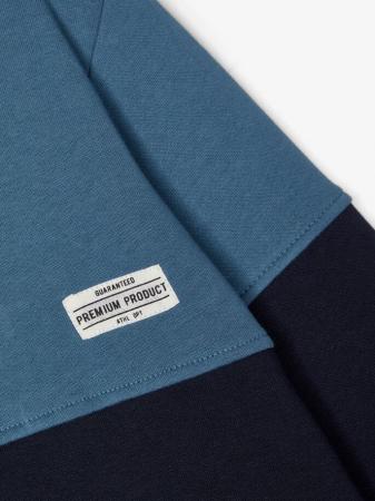 Bluza copii, bumbac organic, baieti - Name It Valdor Sapphire3