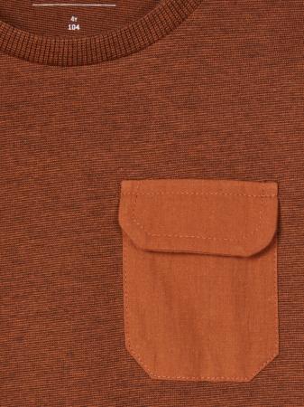 Bluza cu buzunar la piept, bumbac organic, baieti – Name It Monta2