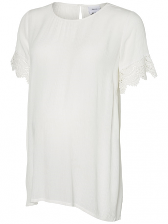 Bluza cu maneca scurta pentru gravide Mamalicious Janilla3