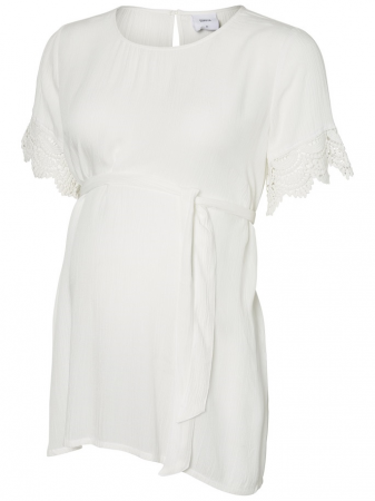 Bluza cu maneca scurta pentru gravide Mamalicious Janilla1