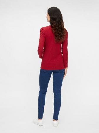 Bluza de Craciun pentru gravide, bumbac organic – Mamalicious Gloria2