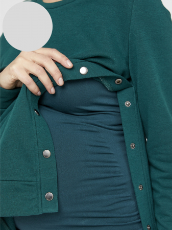 Bluza gravide cu functie de alaptare Mamalicious Sylvana [1]