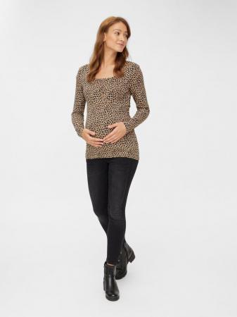Bluza gravide si alaptare, bumbac organic - Mamalicious Cally0