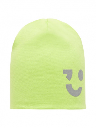 Caciula copii, din bumbac, unisex - Name It Maxi Lime1