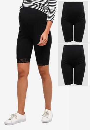 colanti-tip-pantaloni-scurti-pentru-gravide-mamalicious-lenn-set-2-bucati [2]