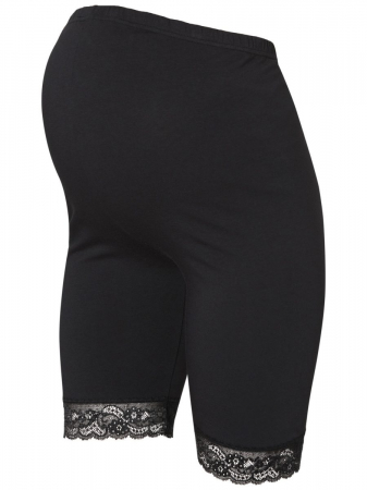 Colanti tip pantaloni scurti pentru gravide Mamalicious Lenn - set 2 bucati1