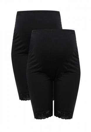 Colanti tip pantaloni scurti pentru gravide Mamalicious Lenn - set 2 bucati5
