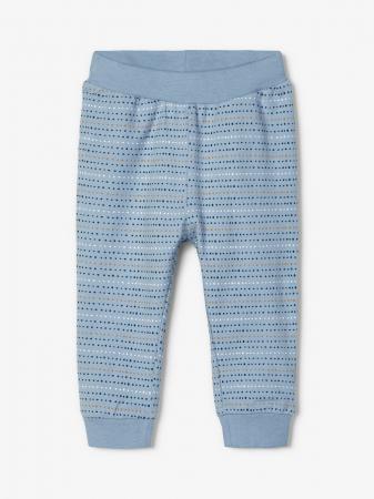 Compleu bebelusi, bluza si pantaloni, bumbac organic, baieti - Name It Leonardo2