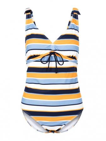 Costum baie gravide si alaptare Russel Stripe3