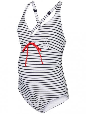 Costum de baie pentru gravide Josefine Stripy [5]